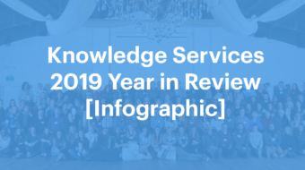Knowledge Services 2019 Year In Review