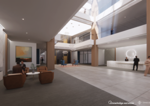Designing Crosspoint Center Lobby